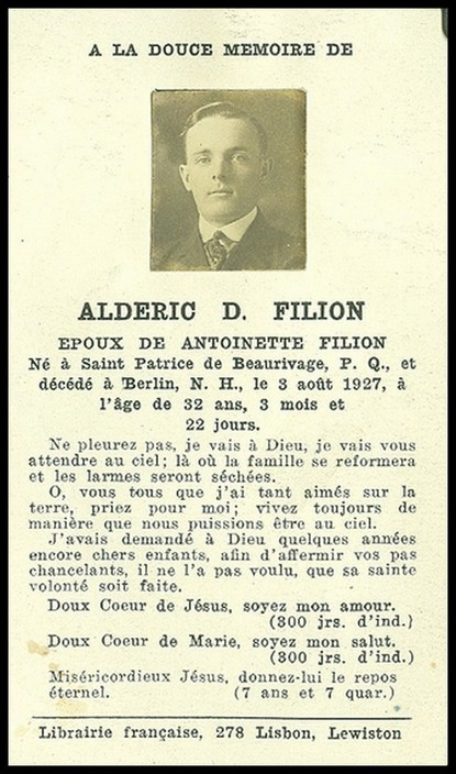 Adéric, D. Fillion