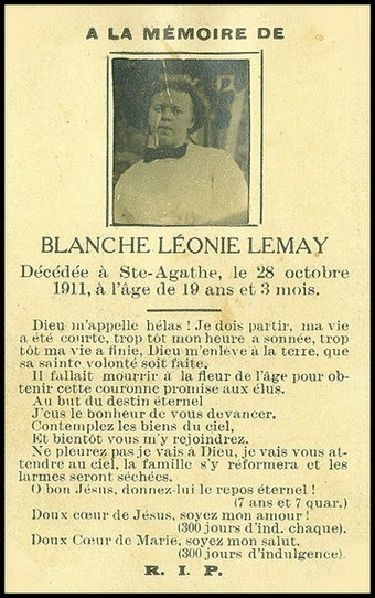 Lemay, Blanche Léonie