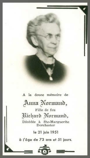 Normand, Anna