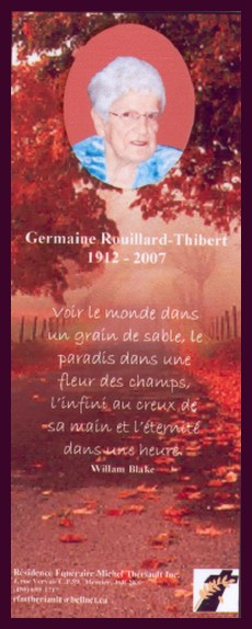 Rouillard, Germaine