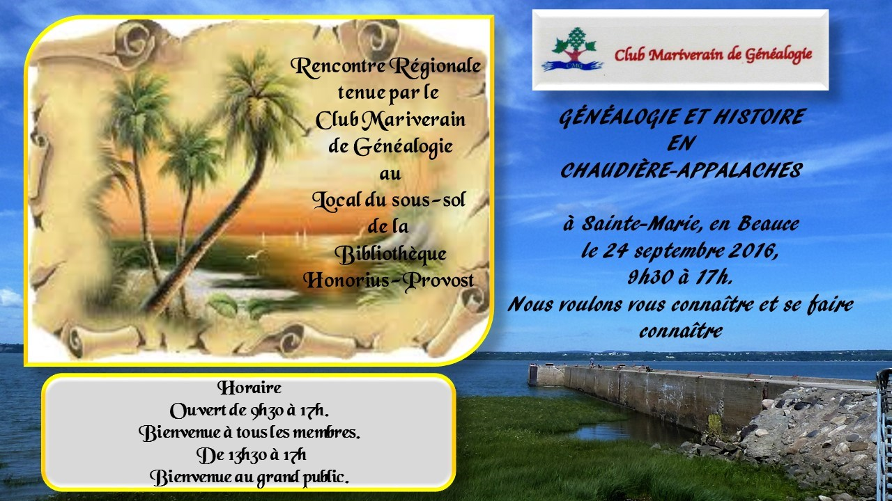 Rencontre beauce appalaches